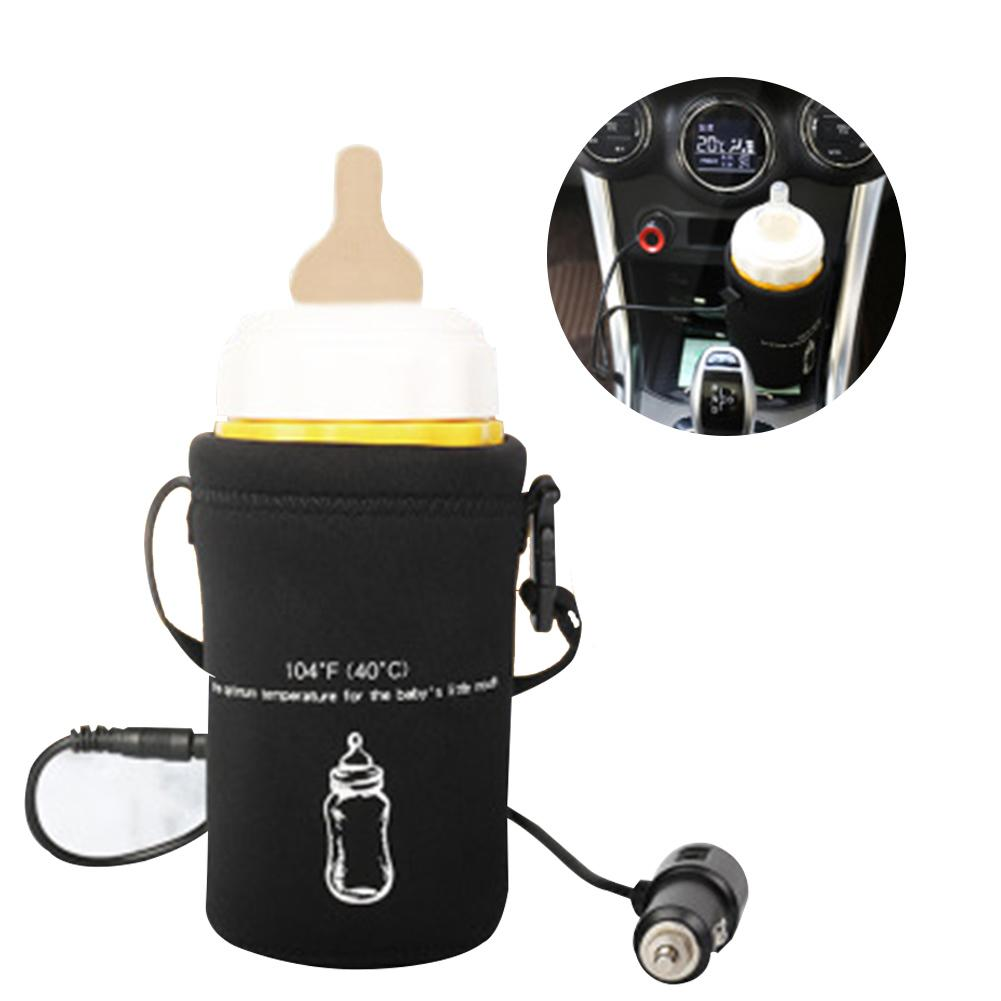 Outdoor Car Travel Baby Milk Bottle USB Heating Cover Warmer Heater Clever