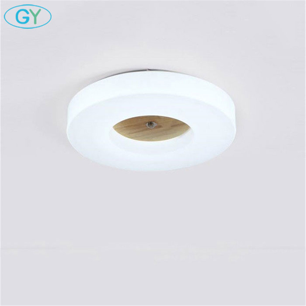 Современный минималистский светодиодный потолочный светильник приглушить гостиная, спальня светодиодный освещение потолка круг акриловы...