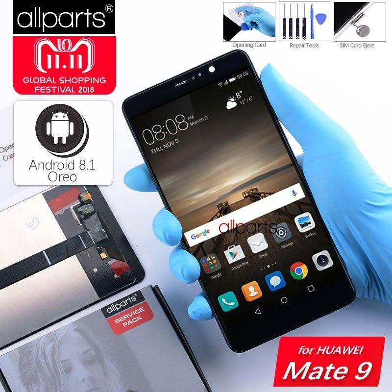 5,9 ''Original LCD Für HUAWEI Mate 9 Display Touchscreen Digitizer mit Rahmen Display für Huawei Mate 9 LCD MHA-L29 ersatz
