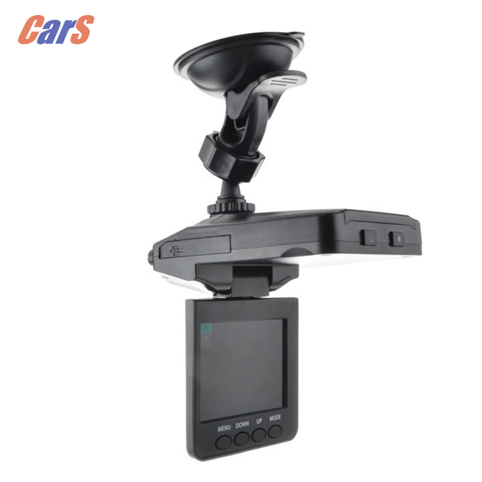 2.5 inch Car Rear View Camera 6 LEDs DC 5V TFT Car DVR Camera Video Recorder Dash Cam IRSS AVI USB 2.0 Black car-styling