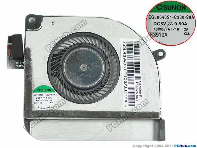 SUNON EG50040S1-C330-S9A DC 5V 0.50A Server Bare fan sunon 3006 30mm 3cm kde0503pev3 8 5v 0 35w 0 07a silent quiet server inverter hdd coolinig fan