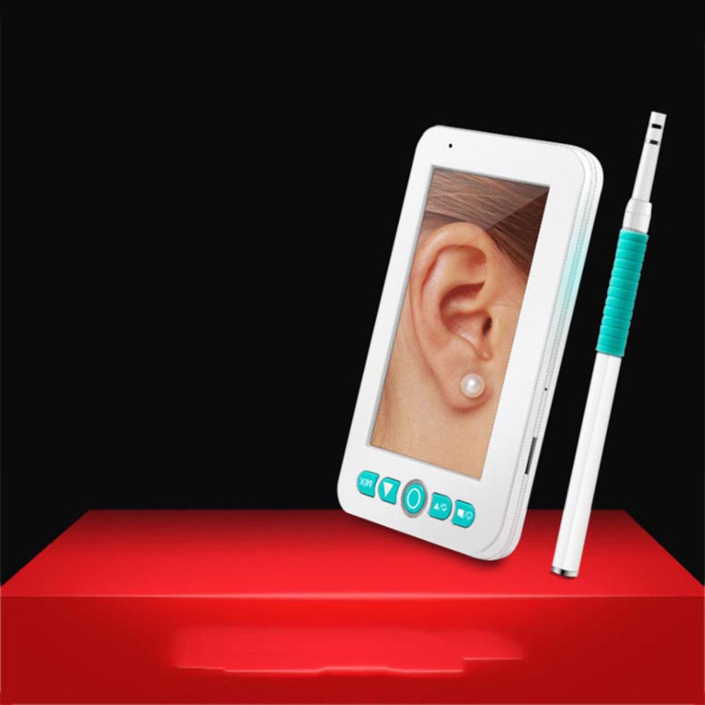 4.3-inch HD visual ear spoon with screen ear cleaner luminescent ear, nose and throat visual endoscope4.3-inch HD visual ear spoon with screen ear cleaner luminescent ear, nose and throat visual endoscope