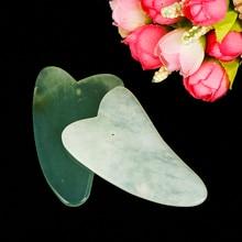 Chinese Traditional Physical Guasha Jade Board Scraping Scra