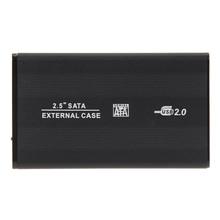 2.5 inch USB 2.0 SATA HD Enclosure Box HDD Hard Drive External Case for Windows XP/ Vista/ Win8/ Win10, Mac OS 8.6