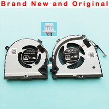 Novo orignal cpu gpu ventilador para dell g3 G3-3579 3779 15 5587 série ventilador de refrigeração cooler 0tjhf2 tjhf2 0gwmfv gwmfv