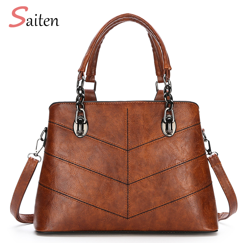 PU Leather Handbag Women Casual Tote Bag High Quality Female Medium  Capacity Ladies Hand Bags Shoulder For