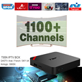 European IPTV Box Android TV Box Sky IPTV Receiver 1100+Sky French Turkish Netherlands Channels Better Than MXV Android TV Box