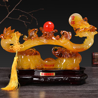 Lucky Craft Computer Feng Shui Like Town House Living Room Home Decoration High Quality Room Art Art Wear
