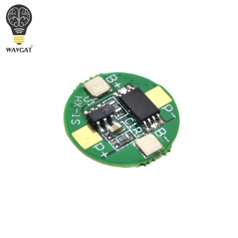 3.7V 18650 <font><b>Protection</b></font> <font><b>Board</b></font> 3.7V <font><b>1S</b></font> 2.5A BMS PCM PCB <font><b>Battery</b></font> <font><b>Protection</b></font> <font><b>Board</b></font> For 3.7V Li-ion lithium <font><b>Battery</b></font> Cell Pack WAVGAT image