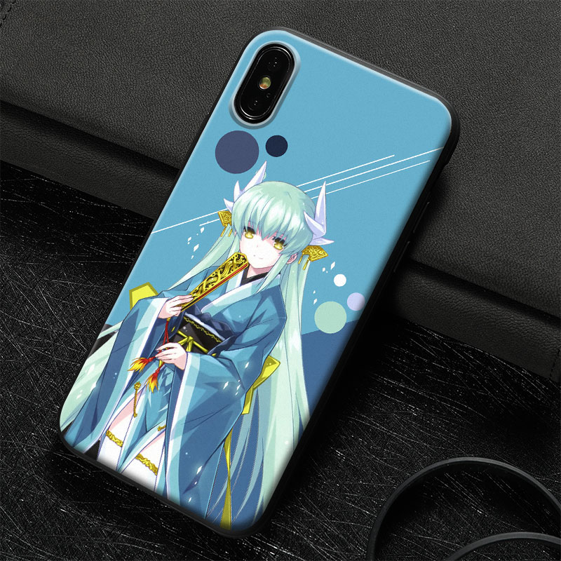 a65691c10c Aliexpress.com : Buy Kiyohime Fate Grand Order FGO Tempered Glass Soft  Silicone Phone Case Shell Cover For Apple iPhone 5 6 6s 7 8 Plus X XR XS  MAX from ...
