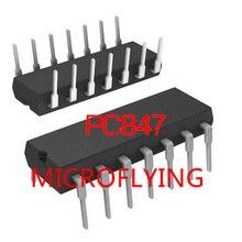 10PCS PC847 Optocouplers New Original DIP16 IC