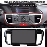 Upgraded Original Car Radio Player For Honda Accord 9 2014 2016 GPS Navigation