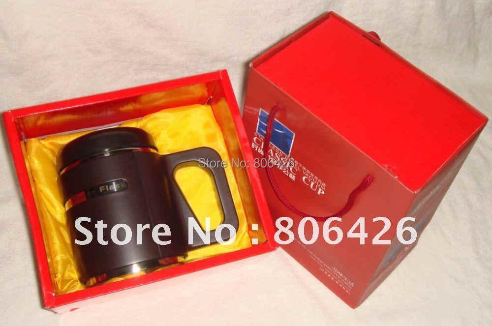 550 мл 304 Щелочная бутылка для воды из нержавеющей стали с подарочной посылка и Сменный фильтр для свежего воздуха