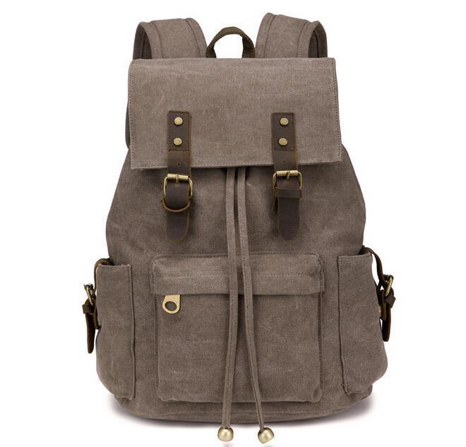 hombro del mujer bolso nueva 2015 mochila de hombre Vintage mochila AfRHx4q