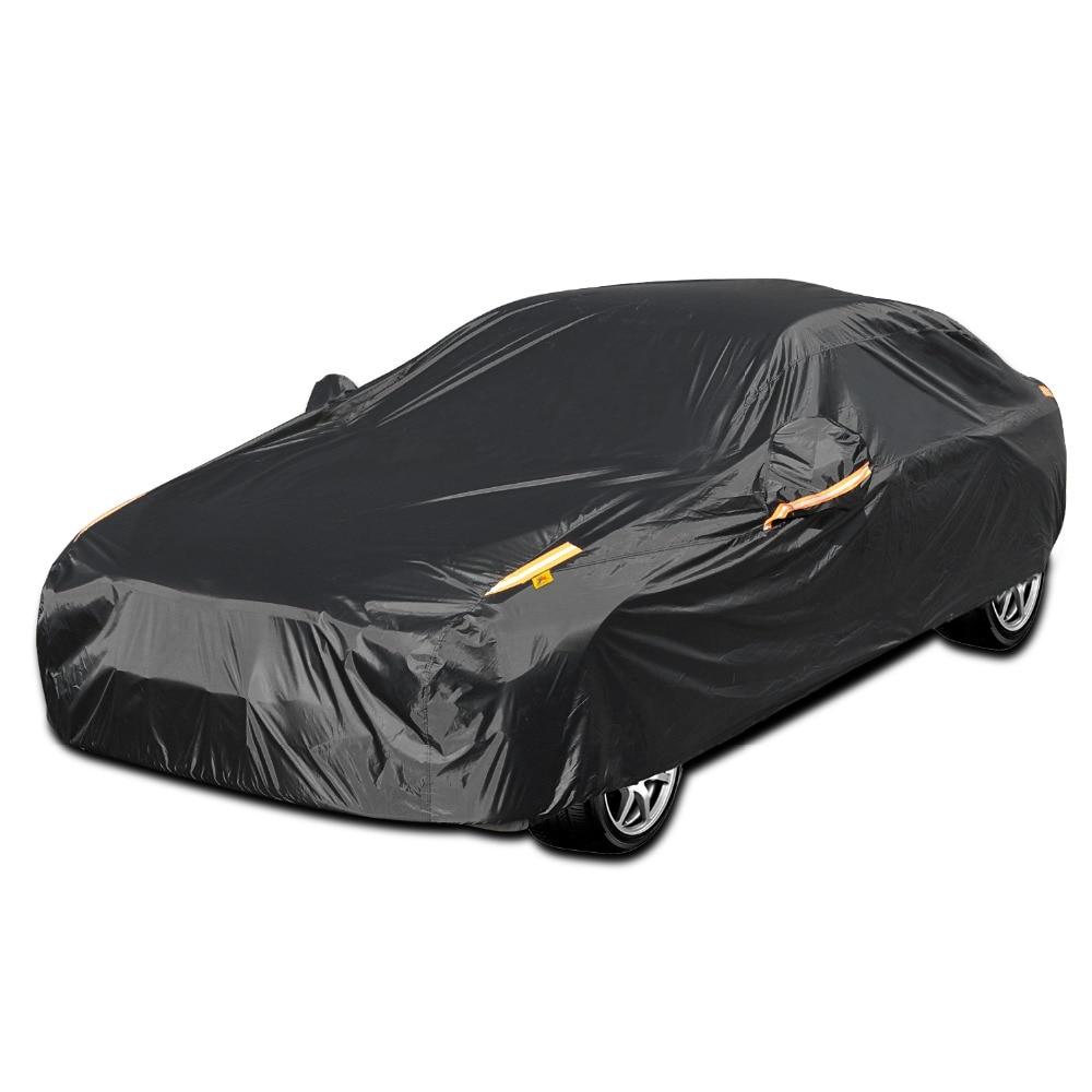 Joyila Waterproof Car Covers Suv Sedan Outdoor Sun Protection Cover For Car Reflector Dust Rain Snow Protective