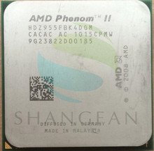 AMD Phenom II X4 955 125 W Quad-Core CPU Pulpitu HDZ955FBK4DGM HDZ955FBK4DGI Socket AM3