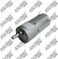 Aslong High Quality JGB37 545SH 2860 12v 1120 Rpm Dc Gear Motor Smart Car Intelligent Robot