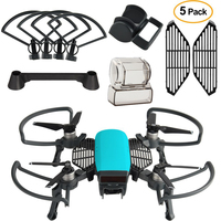 Dji Spark Accessories Kit 2 In 1 Propeller Guard With Foldable Landing Gear Gimbal Camera Guard