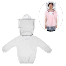 2019 Outdoor Tools Beekeeping Jacket Lightweight Breathable Detachable Pullover Bee Keeping Veil Suit