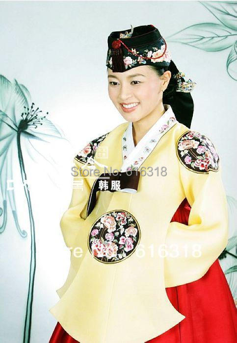 9 Types Multicolor Genuine Traditional Korea Royal Empress Costume Clothes Stage Clothing Or Photography Use Free Shipping