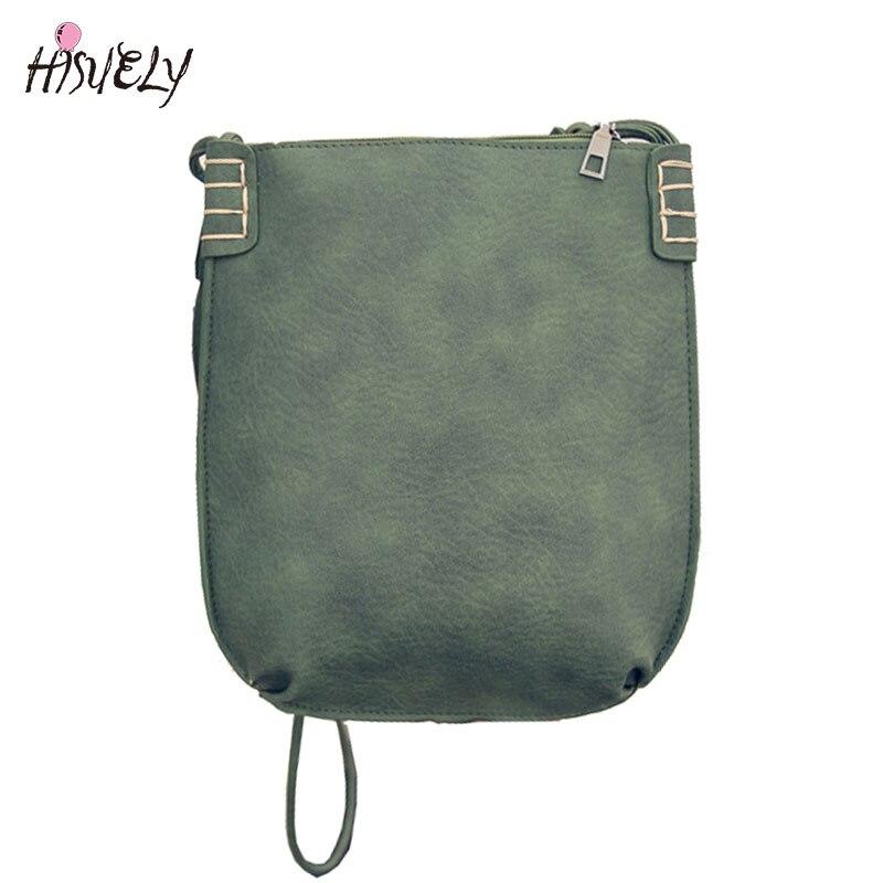 f2b682217380 2017 Hot Korea Style Ladies Retro Matte PU leather Handbag Concise Fashion  Small Shoulder Bag Woman Designer Messenger Bag
