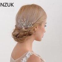 Kristall Perlen Pageant Kopfschmuck Blumen Braut Haar Strass Prom Kopfschmuck Brautjungfer Mädchen Hochzeit Haarschmuck HP32