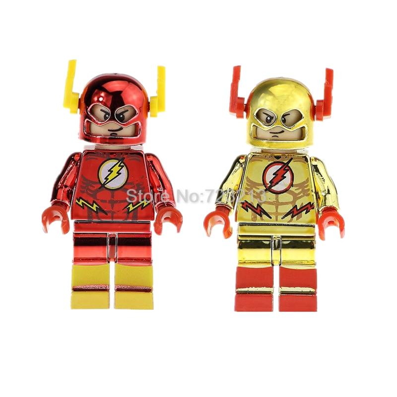 Super hero chrom the flash figure single sale legoingly dc chrome superhero model building - Flash le super heros ...