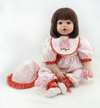reborn doll NPK 50 cm20 'toys, simulation dolls, gifts, training her doll. toys for children bebe reborn
