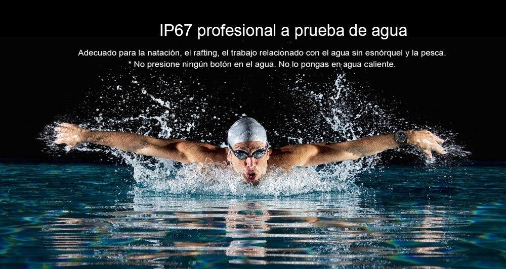 4 LEMFO LEM6 reloj inteligente impermeable para natacion