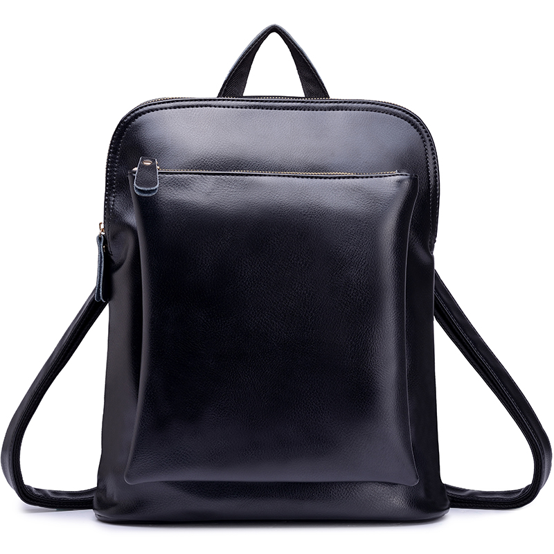 New Style Fashion Large Capacity  Women Backpack Genuine Leather Backpack For Girls Shipping Free от Aliexpress INT