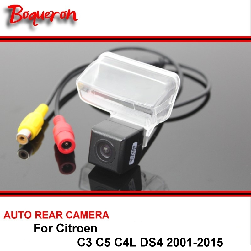 For Citroen C3 C5 C4L DS4 DS 4 Rear view Camera Back up Reverse Camera Car Parking Camera SONY CCD Night Vision Vehicle Camera ...