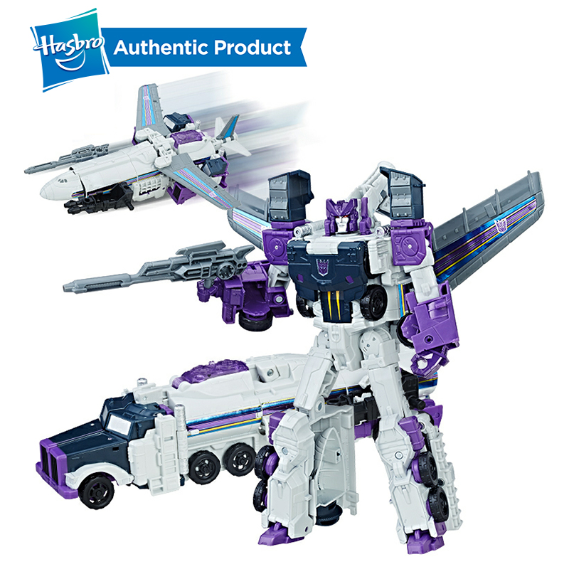 Hasbro Transformers Toys Generations Titans Return Voyager Decepticon Octone and Murk Action Figure Collection Model Car Toy
