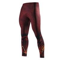 גברים מכנסי טרנינג לגברים דחיסת מכנסיים סקיני אופנה מכנסיים חותלות Jogger גברים כושר 3D פלאש ספיידרמן מכנסיים אלסטיים