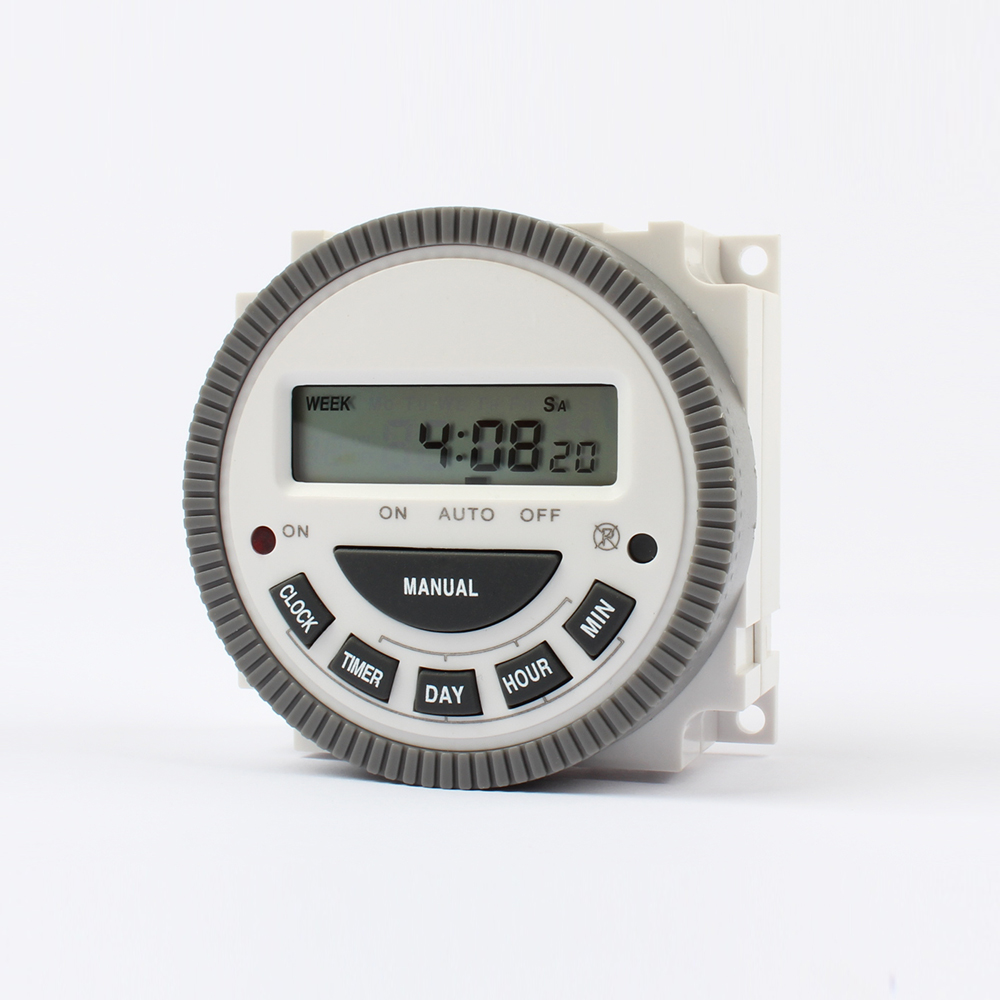 Multipurpose Tm619 5j 220v Digital Timer Switch With Output Wiring Easy 7 Days Programmable Time No Nc In Timers From Tools On