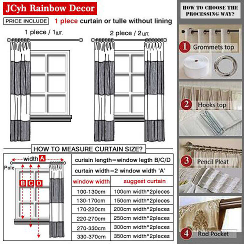 JCyh White Plant Linen Blackout Curtains For Living Room Modern Curtains For Bedroom Windows Ready Made Curtains Rideaux Drapes