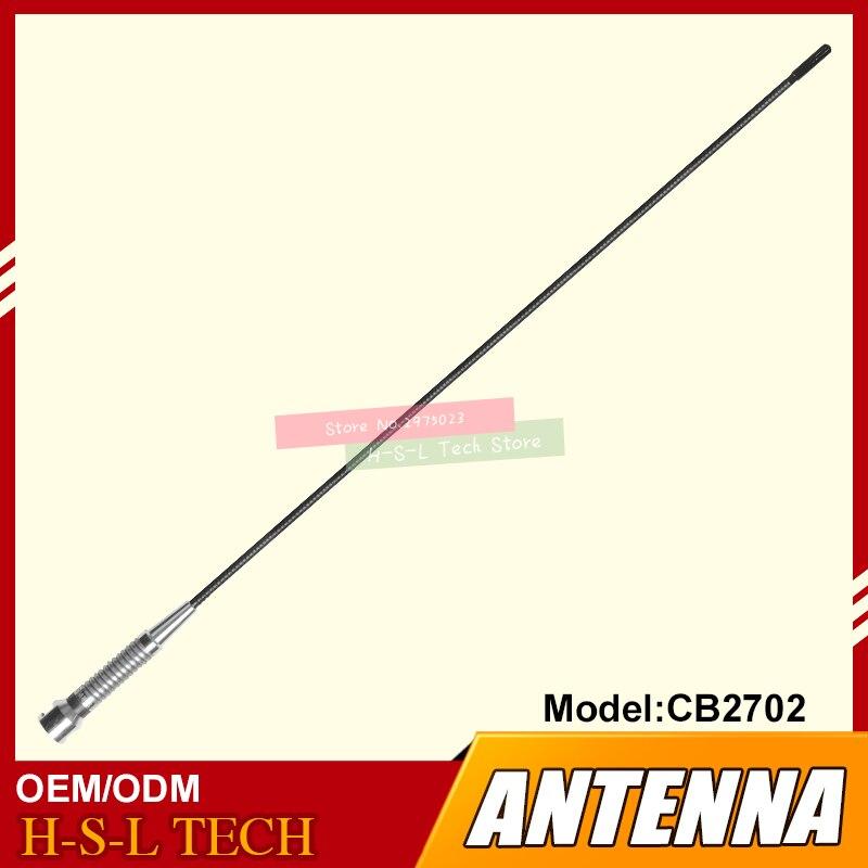 CB 27MHz 11 meter band Antenna 10 inches Long BNC Rubber Duck Flexible Antenna