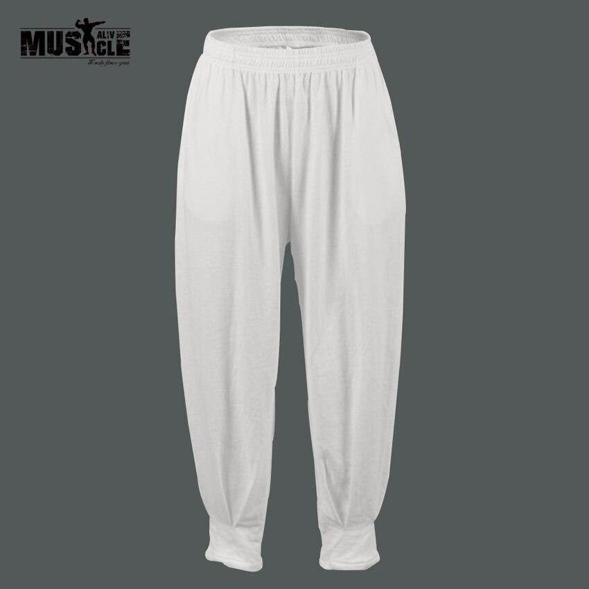 2018 Pantalones de ocio de verano de lino de algodón Cintura - Ropa de hombre