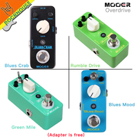 MINI Guitar Effect Pedal The Juicer Transparent And Singing Low Gain Overdrive Pedal Full Metal Shell