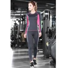 Yoga Sets 2 Pieceset (  Shirts+Legging Pants )  Women Yoga Sports Sets Gym Running Clothing Fot Women Fitness Free Shipping