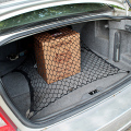CS-314 Car Rear Racks Net Storage Organizer with 4 Mounting Polypropylene + NR Hook 70 x 70CM for Car / SUV / Bus / House Truck