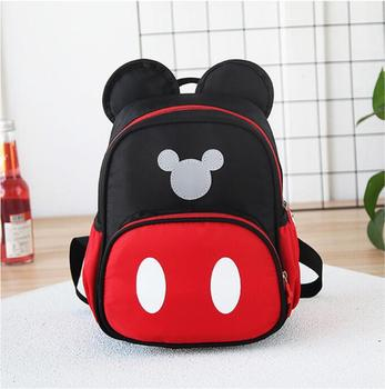 2019 New Kids school bags Kindergarten Children Cartoon Mickey School Bags Minnie Backpack Waterproof Schoolbags Satchel 1