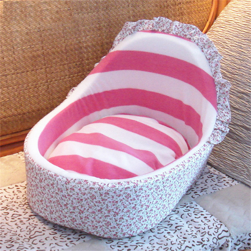 1pcs Hot Sale Princess Dog Cat Bed Small Dogs Warm Houses Sofa Pet Bed Detachable & Washable Cushion