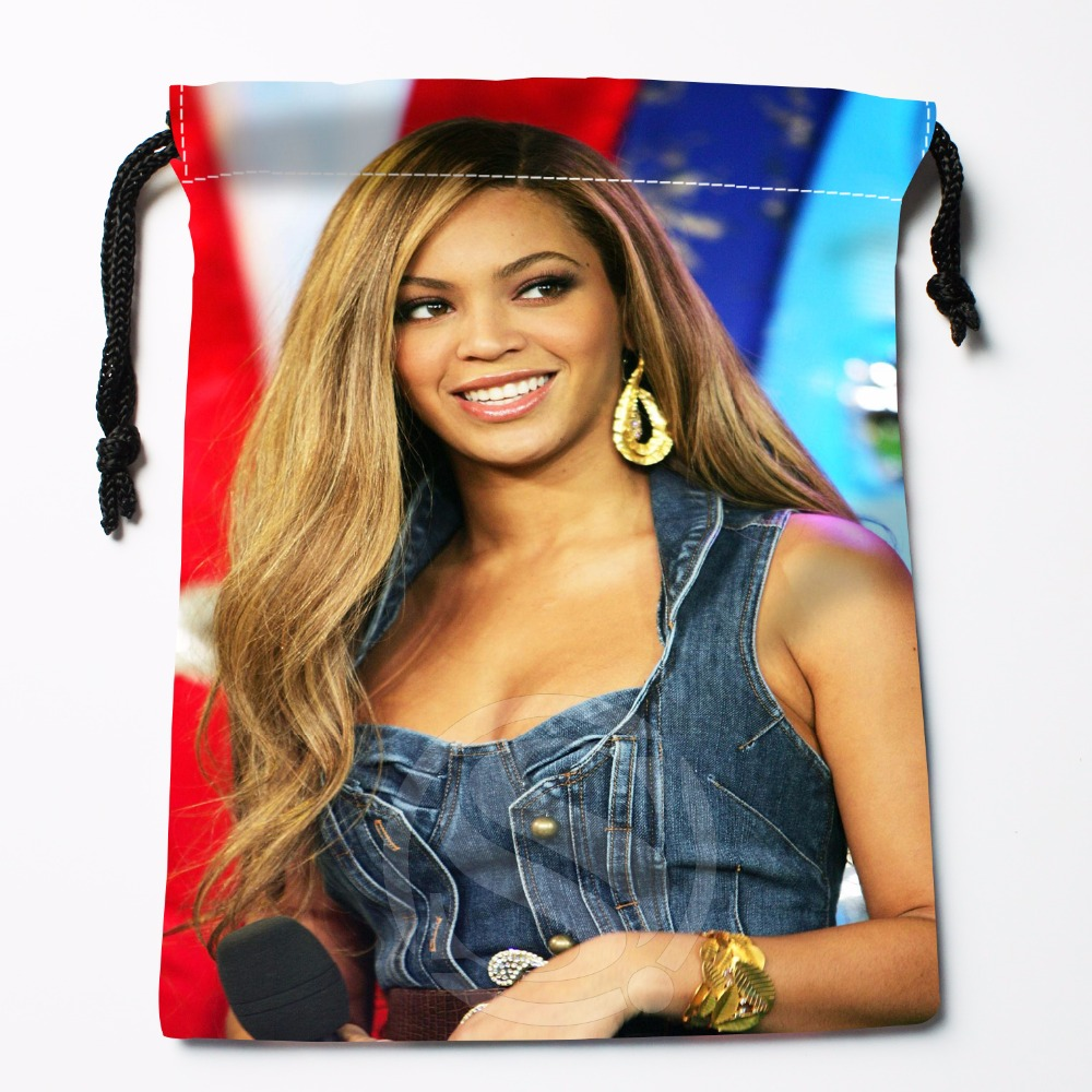 T&w157 New Beyonce  Custom Printed  Receive Bag Compression Type Drawstring Bags Size 18X22cm F725&157wf