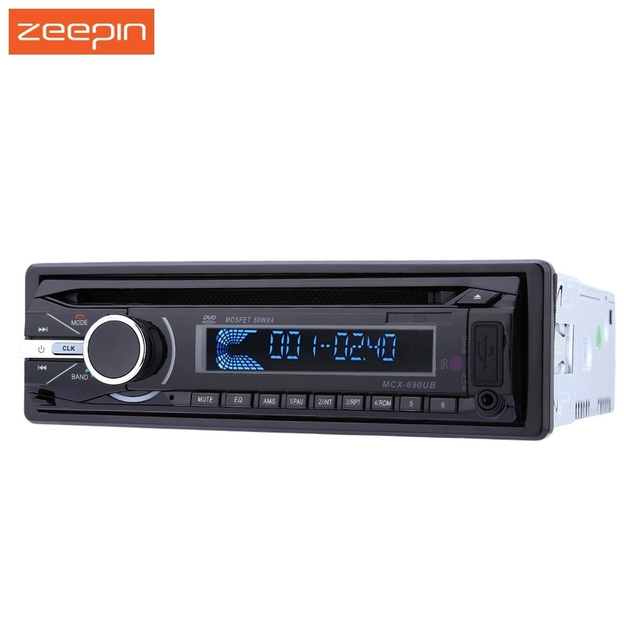 2.5″ 12V Car Audio Stereo 690  DVD Player FM Function Built-in Bluetooth 2.0 hands free call and microphone Handfree with Remote