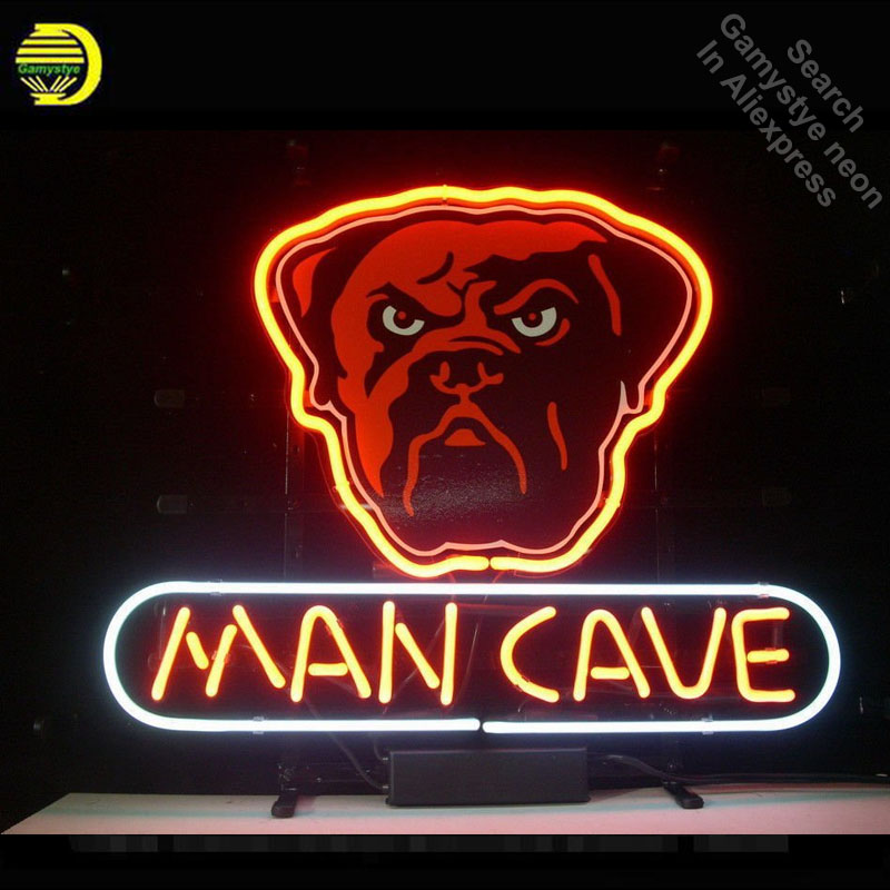 Light Bulbs Learned Neon Sign For Dog Man Cave Neon Bulb Sign Neon Lights Sign Painted Board Glass Tube Handcraft Iconic Sign Display Illuminated To Clear Out Annoyance And Quench Thirst Lights & Lighting