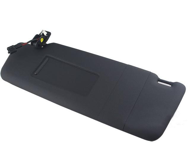 Free Shipping OEM Sun Visor Right Side Black Fit For VW PASSAT B7 CC JETTA MK5 1KD857552A , 1KD 857 552A