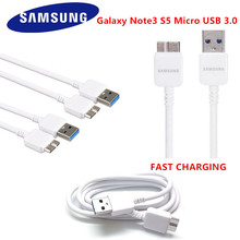 NEW ORIGINAL SAMSUNG Galaxy Note3 Micro USB 3.0 USB For Galaxy S5  Data Sync Cable Charger White Black 1.5 M