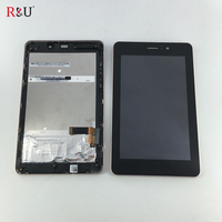 7 High Quality Lcd Display Screen Touch Screen Panel Digitizer Assembly Frame Replacement For ASUS Fonepad