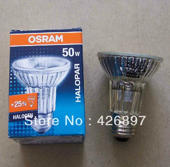 osram halopar 20 alu 64832 fl 50w halogen lamp 64832fl 230v e27 es flood 30 degree par20. Black Bedroom Furniture Sets. Home Design Ideas