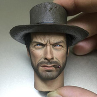 1:6 Scale Asian Man Boy Head Sculpt with Cigaretes Hat Heads culpt Carving God of Gamblers Model Toys for 12'' Male Figure